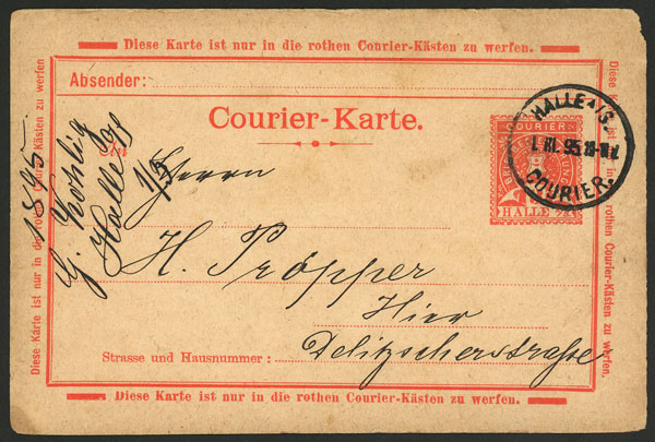 Lot 22 - germany postal history -  Guillermo Jalil - Philatino Auction # 2035 WORLDWIDE + ARGENTINA: Great August sale!