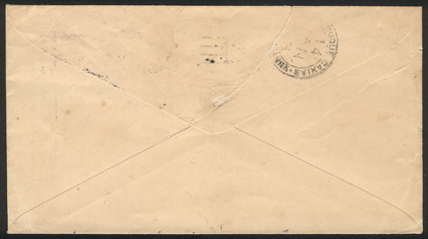 Lot 714 - united states postal history -  Guillermo Jalil - Philatino Auction # 2035 WORLDWIDE + ARGENTINA: Great August sale!