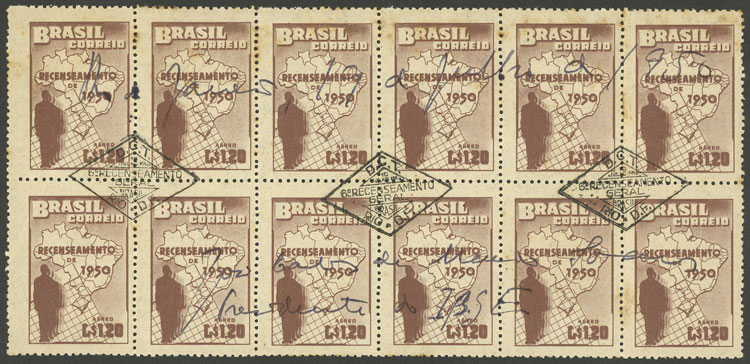 Lot 327 - brazil general issues -  Guillermo Jalil - Philatino Auction # 2035 WORLDWIDE + ARGENTINA: Great August sale!