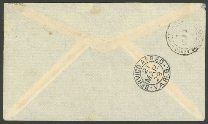 Lot 400 - brazil postal history -  Guillermo Jalil - Philatino Auction # 2035 WORLDWIDE + ARGENTINA: Great August sale!
