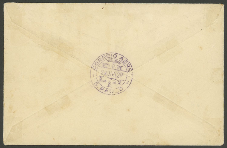 Lot 401 - brazil postal history -  Guillermo Jalil - Philatino Auction # 2035 WORLDWIDE + ARGENTINA: Great August sale!