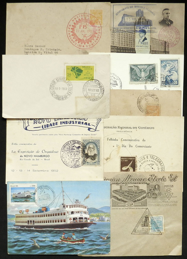 Lot 476 - brazil postal history -  Guillermo Jalil - Philatino Auction # 2035 WORLDWIDE + ARGENTINA: Great August sale!
