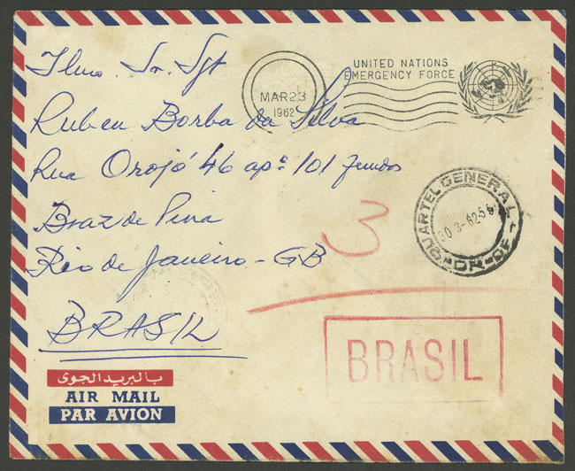 Lot 508 - brazil postal history -  Guillermo Jalil - Philatino Auction # 2035 WORLDWIDE + ARGENTINA: Great August sale!