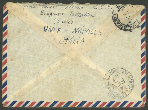 Lot 503 - brazil postal history -  Guillermo Jalil - Philatino Auction # 2035 WORLDWIDE + ARGENTINA: Great August sale!