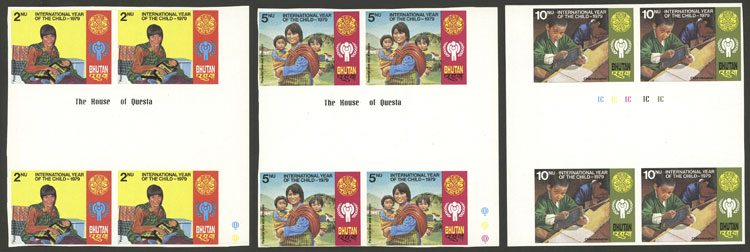 Lot 568 - bhutan general issues -  Guillermo Jalil - Philatino Auction # 2035 WORLDWIDE + ARGENTINA: Great August sale!