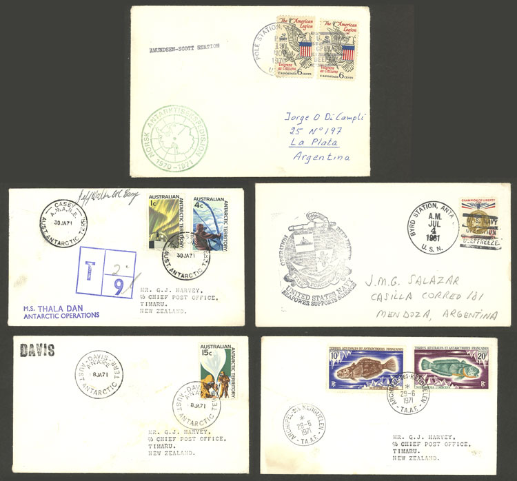 Lot 87 - antarctica postal history -  Guillermo Jalil - Philatino Auction # 2035 WORLDWIDE + ARGENTINA: Great August sale!