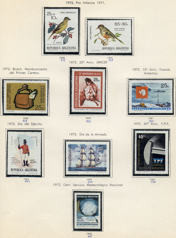 Lot 225 - Argentina Lots and Collections -  Guillermo Jalil - Philatino Auction # 2035 WORLDWIDE + ARGENTINA: Great August sale!