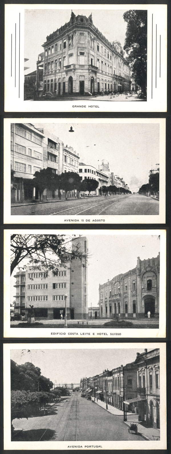 Lot 538 - brazil postcards -  Guillermo Jalil - Philatino Auction # 2035 WORLDWIDE + ARGENTINA: Great August sale!
