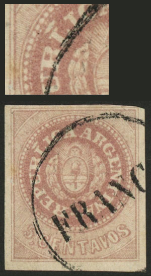 Lot 49 - Argentina escuditos -  Guillermo Jalil - Philatino Auction # 2037 ARGENTINA: Special September auction