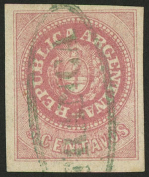 Lot 47 - Argentina escuditos -  Guillermo Jalil - Philatino Auction # 2037 ARGENTINA: Special September auction