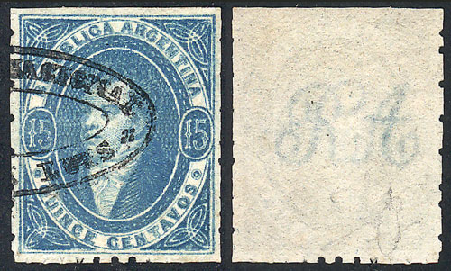 Lot 98 - Argentina rivadavias -  Guillermo Jalil - Philatino Auction # 2037 ARGENTINA: Special September auction