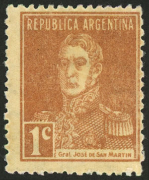 Lot 175 - Argentina general issues -  Guillermo Jalil - Philatino Auction # 2037 ARGENTINA: Special September auction