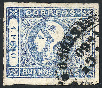 Lot 8 - Argentina cabecitas -  Guillermo Jalil - Philatino Auction # 2037 ARGENTINA: Special September auction