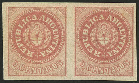 Lot 42 - Argentina escuditos -  Guillermo Jalil - Philatino Auction # 2037 ARGENTINA: Special September auction