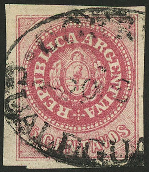 Lot 46 - Argentina escuditos -  Guillermo Jalil - Philatino Auction # 2037 ARGENTINA: Special September auction
