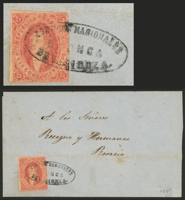 Lot 62 - Argentina rivadavias -  Guillermo Jalil - Philatino Auction # 2037 ARGENTINA: Special September auction