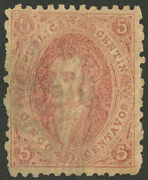 Lot 63 - Argentina rivadavias -  Guillermo Jalil - Philatino Auction # 2037 ARGENTINA: Special September auction