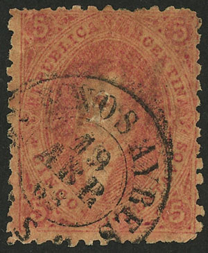 Lot 74 - Argentina rivadavias -  Guillermo Jalil - Philatino Auction # 2037 ARGENTINA: Special September auction