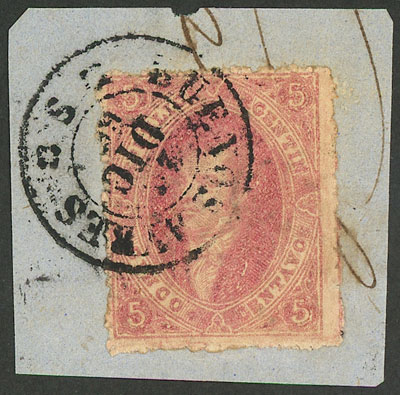 Lot 99 - Argentina rivadavias -  Guillermo Jalil - Philatino Auction # 2037 ARGENTINA: Special September auction