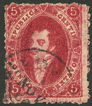 Lot 112 - Argentina rivadavias -  Guillermo Jalil - Philatino Auction # 2037 ARGENTINA: Special September auction