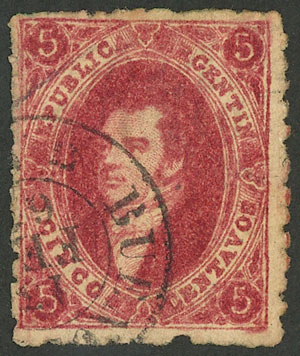 Lot 115 - Argentina rivadavias -  Guillermo Jalil - Philatino Auction # 2037 ARGENTINA: Special September auction