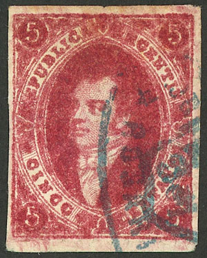 Lot 109 - Argentina rivadavias -  Guillermo Jalil - Philatino Auction # 2037 ARGENTINA: Special September auction