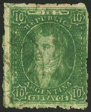 Lot 91 - Argentina rivadavias -  Guillermo Jalil - Philatino Auction # 2037 ARGENTINA: Special September auction