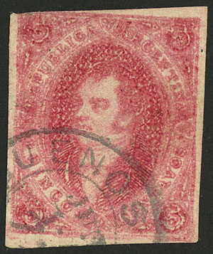 Lot 123 - Argentina rivadavias -  Guillermo Jalil - Philatino Auction # 2037 ARGENTINA: Special September auction