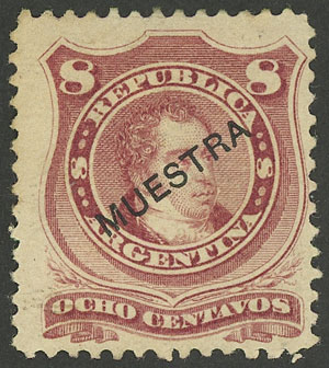 Lot 133 - Argentina general issues -  Guillermo Jalil - Philatino Auction # 2037 ARGENTINA: Special September auction