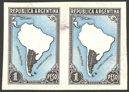 Lot 187 - Argentina general issues -  Guillermo Jalil - Philatino Auction # 2037 ARGENTINA: Special September auction