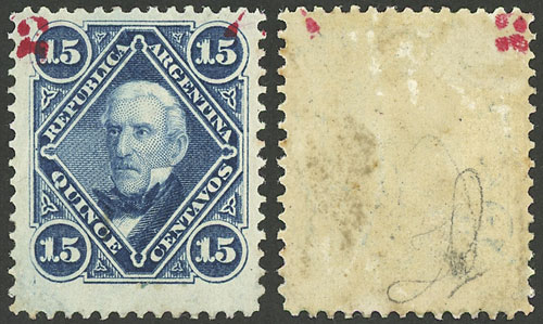 Lot 140 - Argentina general issues -  Guillermo Jalil - Philatino Auction # 2037 ARGENTINA: Special September auction