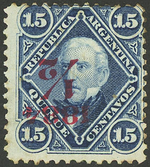 Lot 141 - Argentina general issues -  Guillermo Jalil - Philatino Auction # 2037 ARGENTINA: Special September auction
