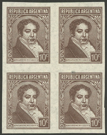 Lot 191 - Argentina general issues -  Guillermo Jalil - Philatino Auction # 2037 ARGENTINA: Special September auction