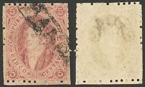 Lot 69 - Argentina rivadavias -  Guillermo Jalil - Philatino Auction # 2037 ARGENTINA: Special September auction