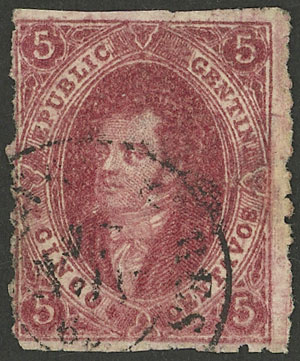 Lot 106 - Argentina rivadavias -  Guillermo Jalil - Philatino Auction # 2037 ARGENTINA: Special September auction