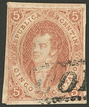 Lot 117 - Argentina rivadavias -  Guillermo Jalil - Philatino Auction # 2037 ARGENTINA: Special September auction