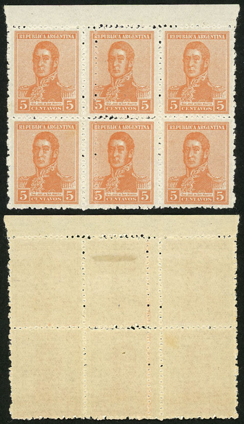 Lot 170 - Argentina general issues -  Guillermo Jalil - Philatino Auction # 2037 ARGENTINA: Special September auction