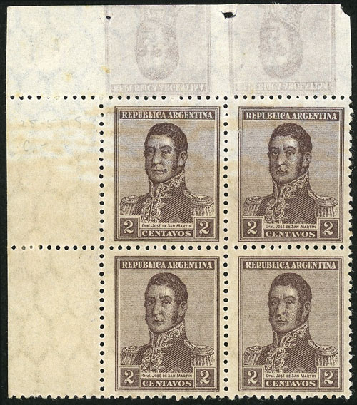 Lot 169 - Argentina general issues -  Guillermo Jalil - Philatino Auction # 2037 ARGENTINA: Special September auction