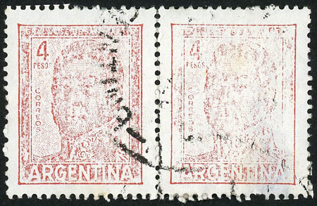 Lot 236 - Argentina general issues -  Guillermo Jalil - Philatino Auction # 2037 ARGENTINA: Special September auction