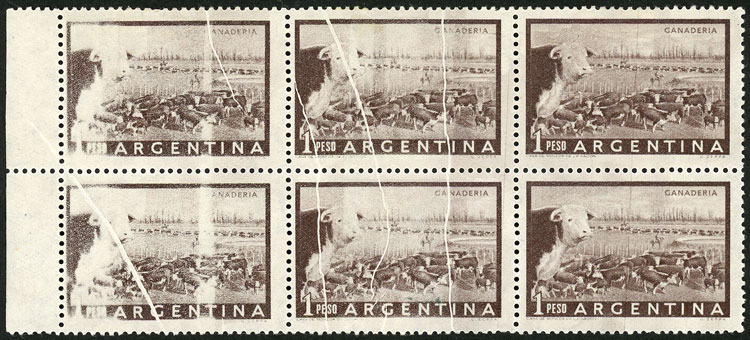 Lot 224 - Argentina general issues -  Guillermo Jalil - Philatino Auction # 2037 ARGENTINA: Special September auction