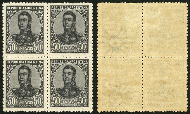 Lot 156 - Argentina general issues -  Guillermo Jalil - Philatino Auction # 2037 ARGENTINA: Special September auction