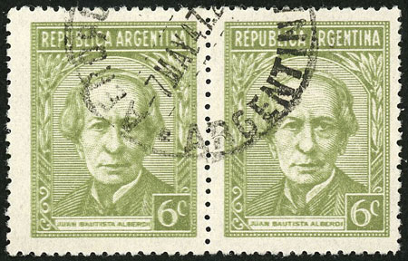 Lot 193 - Argentina general issues -  Guillermo Jalil - Philatino Auction # 2037 ARGENTINA: Special September auction