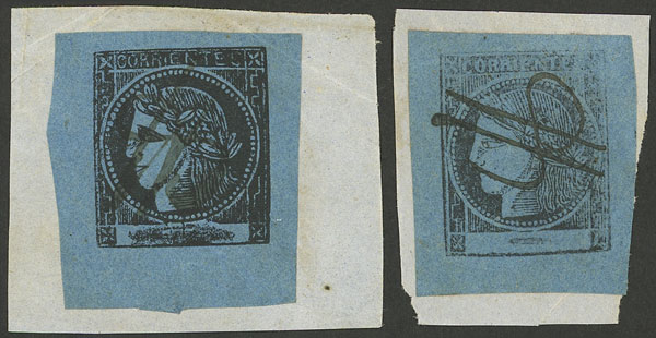 Lot 14 - Argentina corrientes -  Guillermo Jalil - Philatino Auction # 2037 ARGENTINA: Special September auction