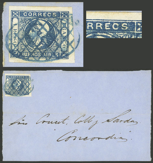 Lot 7 - Argentina cabecitas -  Guillermo Jalil - Philatino Auction # 2037 ARGENTINA: Special September auction