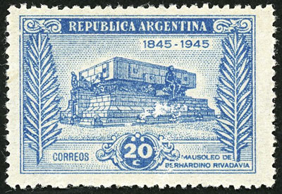 Lot 206 - Argentina general issues -  Guillermo Jalil - Philatino Auction # 2037 ARGENTINA: Special September auction