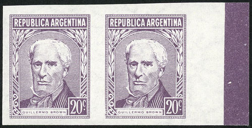 Lot 221 - Argentina general issues -  Guillermo Jalil - Philatino Auction # 2037 ARGENTINA: Special September auction