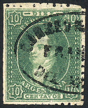 Lot 88 - Argentina rivadavias -  Guillermo Jalil - Philatino Auction # 2037 ARGENTINA: Special September auction