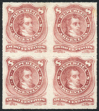 Lot 130 - Argentina general issues -  Guillermo Jalil - Philatino Auction # 2037 ARGENTINA: Special September auction