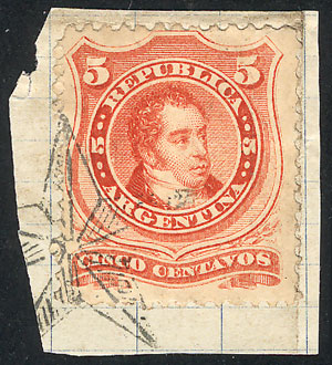 Lot 69 - Argentina general issues -  Guillermo Jalil - Philatino Auction # 2038 ARGENTINA: General auction with very low starts!