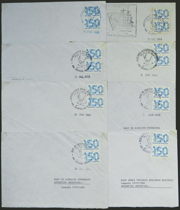 Lot 4 - argentine antarctica postal history -  Guillermo Jalil - Philatino Auction # 2038 ARGENTINA: General auction with very low starts!